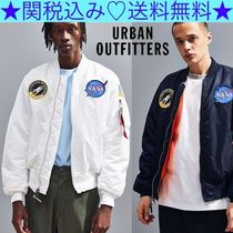 Urban Outfitters Short Plain MA-1 Bomber Jackets