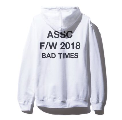 ANTI SOCIAL SOCIAL CLUB Hoodies Unisex Street Style Hoodies 3