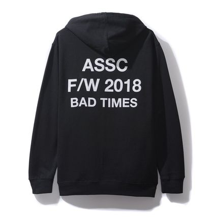 ANTI SOCIAL SOCIAL CLUB Hoodies Unisex Street Style Hoodies 5