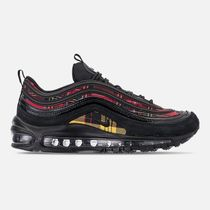 Nike AIR MAX 97 Other Check Patterns Casual Style Street Style
