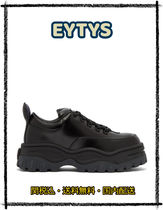 Eytys Platform Casual Style Street Style Leather Low-Top Sneakers