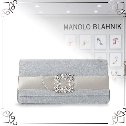 Plain Leather Handmade Party Style Clutches