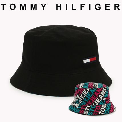 bc3484218f Tommy Hilfiger 2018-19AW Unisex Street Style Bucket Hats Wide-brimmed Hats  (AU0AU00305) by himawarihimawari - BUYMA