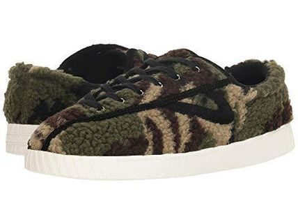 Camouflage Platform Lace-up Casual Style