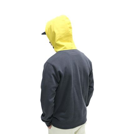 ONLY NY Hoodies Pullovers Street Style Long Sleeves Plain Cotton Hoodies 4