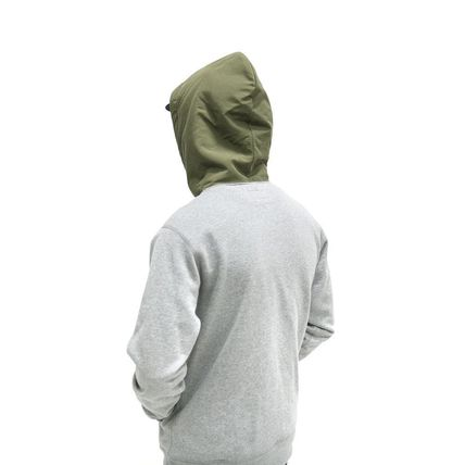 ONLY NY Hoodies Pullovers Street Style Long Sleeves Plain Cotton Hoodies 11