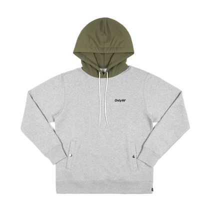 ONLY NY Hoodies Pullovers Street Style Long Sleeves Plain Cotton Hoodies 12