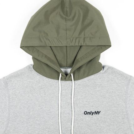 ONLY NY Hoodies Pullovers Street Style Long Sleeves Plain Cotton Hoodies 13