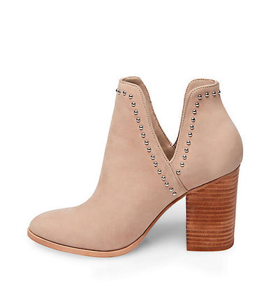 dc10cb4cfb2 Steve Madden High Heel Round Toe Casual Style Street Style Plain Leather 10  ...