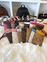 Coach Street Style PVC Clothing Card Holders