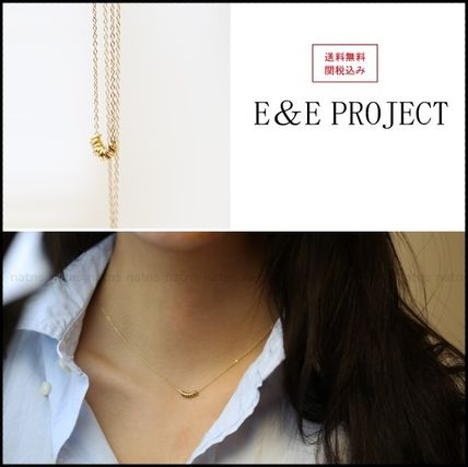 Casual Style Silver 14K Gold Necklaces & Pendants