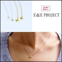 E and E PROJECT Casual Style Silver 14K Gold Necklaces & Pendants