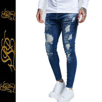 SikSilk Denim Street Style Plain Skinny Fit Jeans & Denim