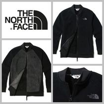 THE NORTH FACE Unisex Street Style Plain Oversized Varsity Jackets