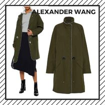Alexander Wang Casual Style Studded Street Style Plain Long With Jewels