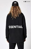 FEAR OF GOD ESSENTIALS Monogram Street Style Long Sleeves Plain Oversized T-Shirts