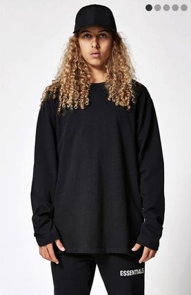 FEAR OF GOD More T-Shirts Monoglam Street Style Long Sleeves Plain Oversized T-Shirts 2