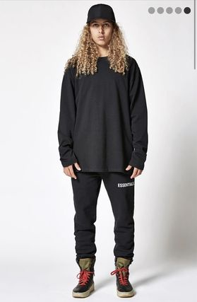 FEAR OF GOD More T-Shirts Monoglam Street Style Long Sleeves Plain Oversized T-Shirts 5