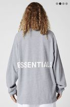 FEAR OF GOD ESSENTIALS Crew Neck Monogram Street Style Long Sleeves Plain