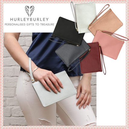 2fd09318078 HURLEY BURLEY Plain Leather Elegant Style Clutches by nevefuco - BUYMA