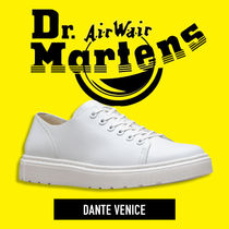 Dr Martens Casual Style Unisex Street Style Low-Top Sneakers