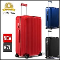 RIMOWA Unisex Over 7 Days Soft Type TSA Lock Luggage & Travel Bags