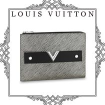 Louis Vuitton EPI Unisex Bag in Bag 2WAY Leather Shoulder Bags