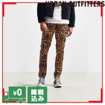 Urban Outfitters Printed Pants Leopard Patterns Street Style Patterned Pants