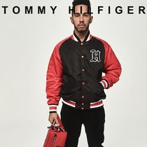Tommy Hilfiger Short Unisex Street Style Collaboration Plain