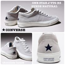 CONVERSE ONE STAR Star Unisex Suede Plain Sneakers