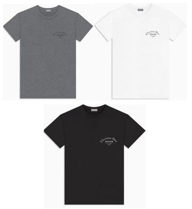 d05cf9d7628a ... DIOR HOMME More T-Shirts Unisex Cotton Short Sleeves T-Shirts ...
