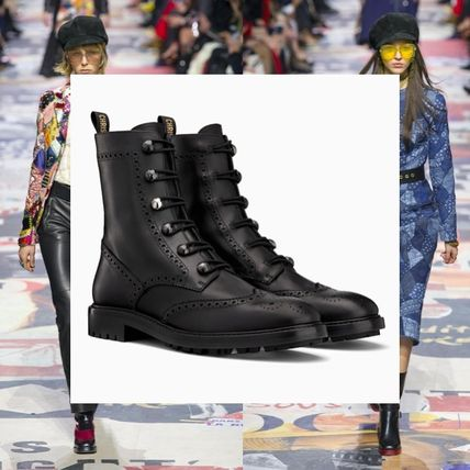 fd1170535 ... Boots 4 Christian Dior Ankle & Booties Round Toe Leather Block Heels  Ankle & Booties ...