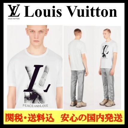 ... Louis Vuitton More T-Shirts Street Style Cotton Short Sleeves T-Shirts  ... ec605ea90f0