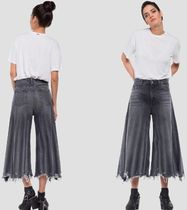 REPLAY Plain Wide & Flared Jeans