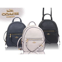 Coach Bag in Bag Leather Backpacks