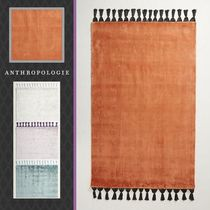 Anthropologie Plain Fringes Carpets & Rugs