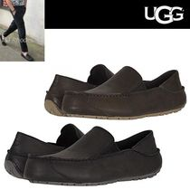 UGG Australia Moccasin Plain Leather Loafers & Slip-ons