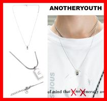 ANOTHERYOUTH Unisex Street Style Necklaces & Chokers