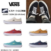 VANS Unisex Street Style Plain Deck Shoes Loafers & Slip-ons