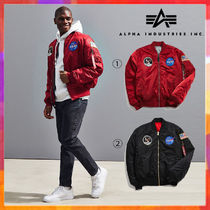 ALPHA INDUSTRIES Street Style MA-1 Bomber Jackets