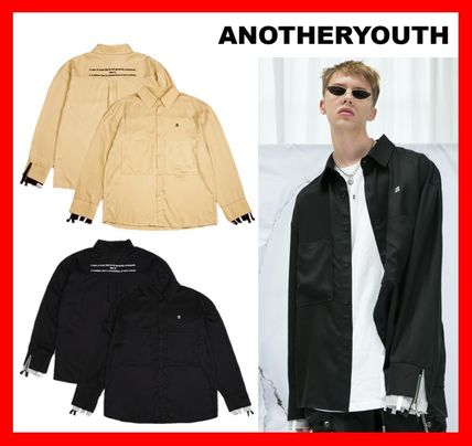 ANOTHERYOUTH Shirts Street Style Cotton Shirts