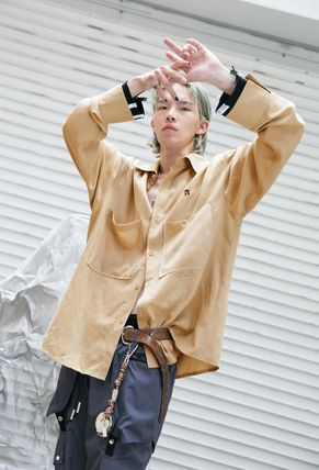 ANOTHERYOUTH Shirts Street Style Cotton Shirts 12