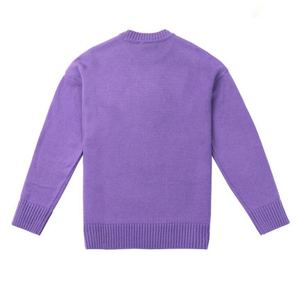 STEREO VINYLS COLLECTION Knits & Sweaters Crew Neck Unisex Street Style Long Sleeves Plain 8