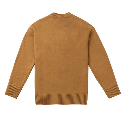 STEREO VINYLS COLLECTION Knits & Sweaters Crew Neck Unisex Street Style Long Sleeves Plain 18