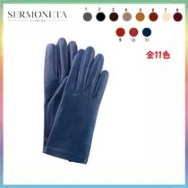 Sermoneta gloves Cashmere Plain Elegant Style Gloves Gloves