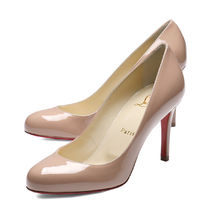 Christian Louboutin Fifille Plain Toe Plain Pin Heels Stiletto Pumps & Mules
