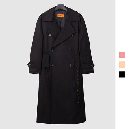 Plain Long Oversized Trench Coats