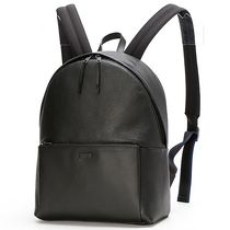 FURLA Street Style A4 Leather Backpacks