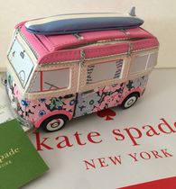 kate spade new york Flower Patterns Tropical Patterns Saffiano Blended Fabrics
