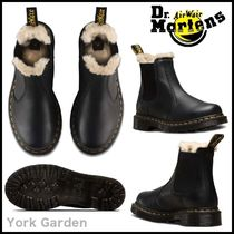 Dr Martens Plain Leather Boots Boots